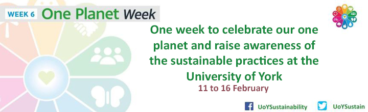 One Planet Week - 11 to 16 February 2018