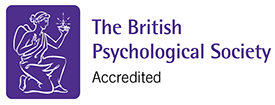 The British Psychological Society, accredited.