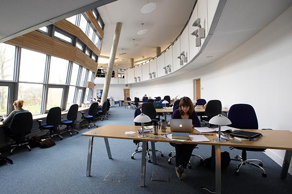 Interior of Humanities Research Centre