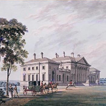 Harewood House, North Front by Thomas Malton Jr (1788)