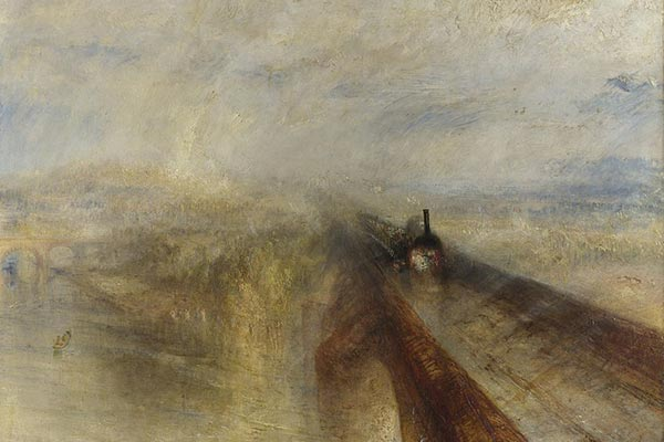 Detail from Rain, Steam and Speed by J.M.W. Turner 1844
