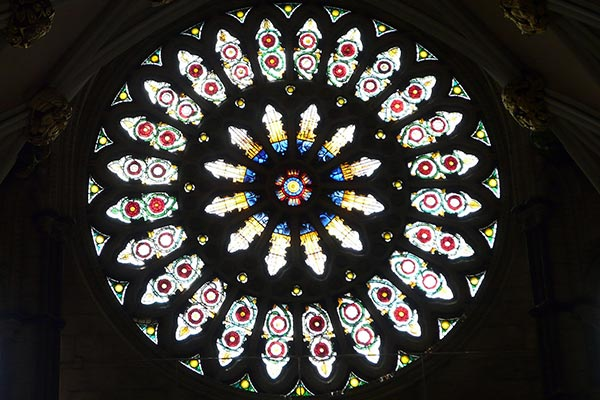 York Minster Rose Window