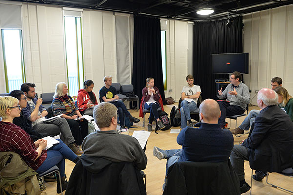 Workshop discussion circle