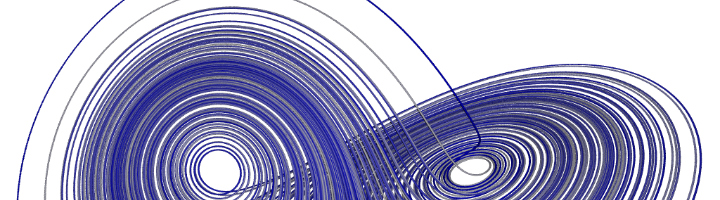 Lorentz strange attractor