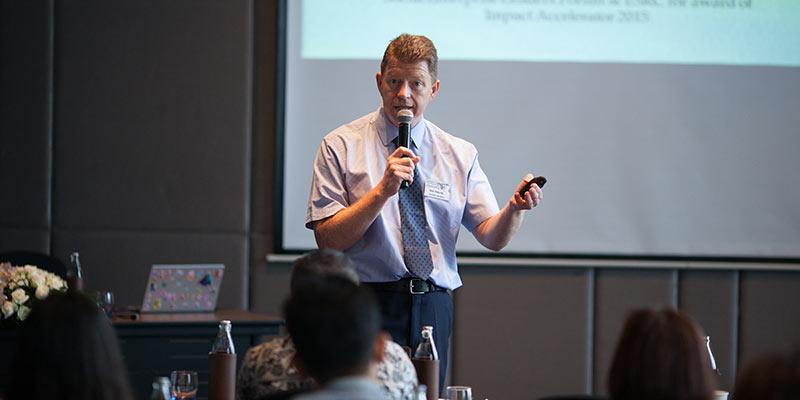 Prof Bob Doherty co-hosts social enterprise workshop in