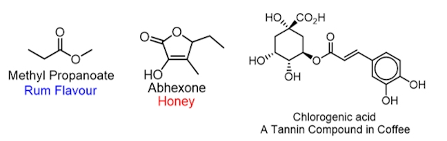 coffee flavour compounds