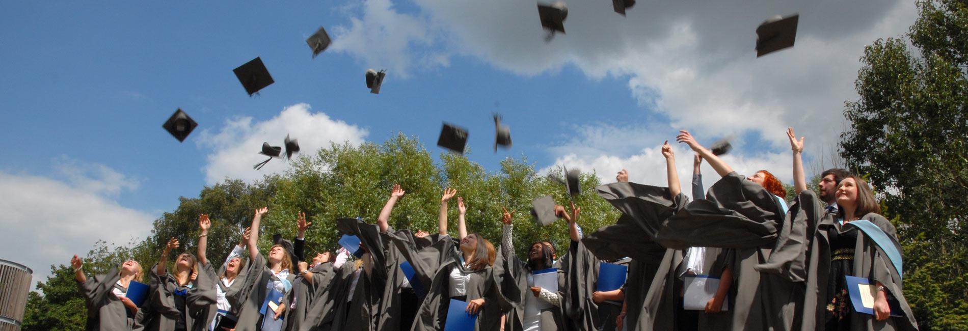 Graduation. Credit: Paul Shields